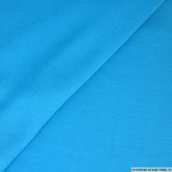 Mousseline crinkle turquoise