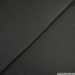 Polyester tissage natté noir