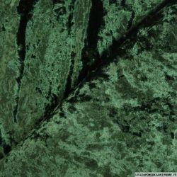 Panne de velours vert