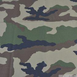 Toile imprimée camouflage forêts d'Europe