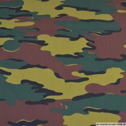 Toile imprimée camouflage forêts d'Amérique