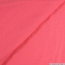 Jersey fin flammé rose