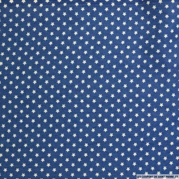 Jean's coton fin imprimé étoile bleu