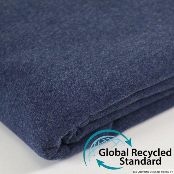 Sweat minkee recyclé bleu jeans