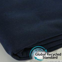 Sweat minkee recyclé marine