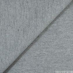 Crêpe lourd coton gris