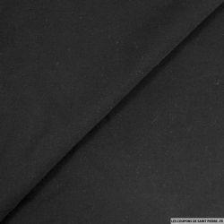 Popeline de viscose noir