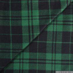 Clan viscose vert et noir