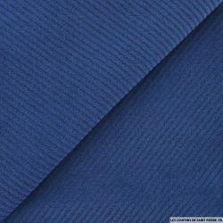 Caban sergé gratté bleu distant