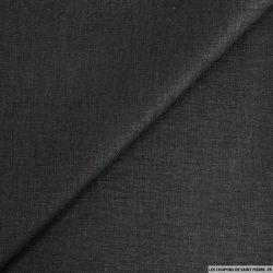Lin viscose noir