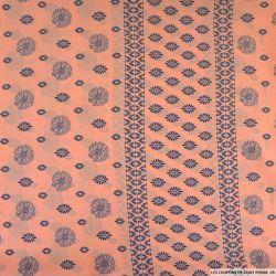 Microfibre polyester imprimée grillage tournesol