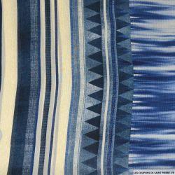 Mousseline polyester trapèze