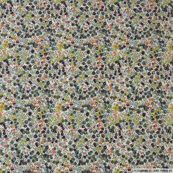 Coton liberty ® Wiltshire vert olive au mètre