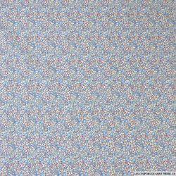 Coton liberty ® Eloise new bleu au mètre