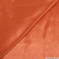 Crêpe satin viscose orange