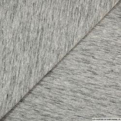 Jersey coton gris chiné