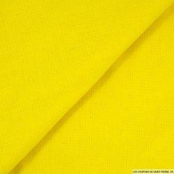 Gaze ajourée jaune soleil