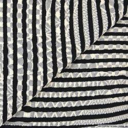 Maille rayure noir et blanc