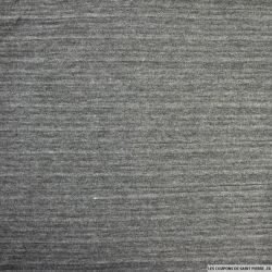Maille plissée gris souris