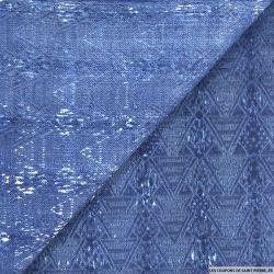 Jean's coton fin imprimé ethnie