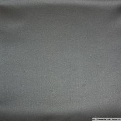 Satin duchesse de polyester noir