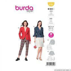 Patron Burda n°6100: Veste
