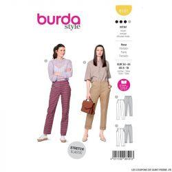 Patron Burda n°6101: Pantalon