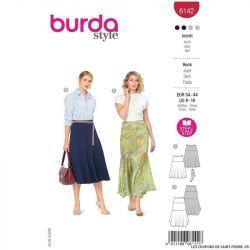 Patron Burda n°6142: Jupe