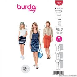 Patron Burda n°6125 : Jupe
