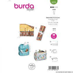 Patron Burda n°9276 : Accessoires de salle de bain