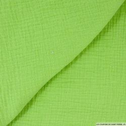 Double gaze vert pomme