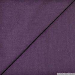 Voile de coton violet