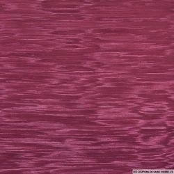 Toile ottoman polyester lie de vin