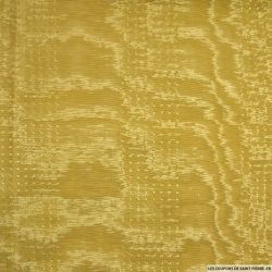 Toile ottoman polyester jaune auréolin