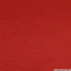 Toile ottoman polyester rouge