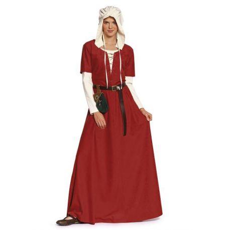 Modèle n°7468 : Robe, Bonnet style Moyen-Âge