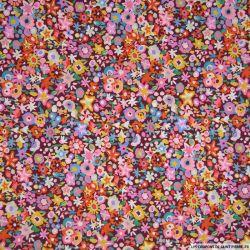 Coton liberty ® DAZZLE multicolore au mètre