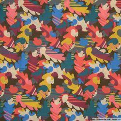 Coton liberty ® Autumn Fall corail au mètre