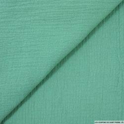 Double gaze vert amandine