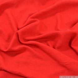 Microfibre légère polyester rouge