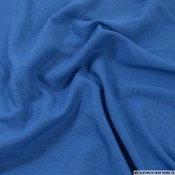 Microfibre légère polyester bleu turquin