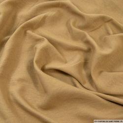 Microfibre légère polyester jaune ocre