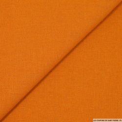 Lin viscose orange