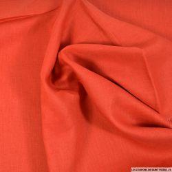 100% Lin rouge pâle