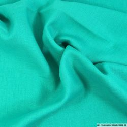 100% Lin lourd turquoise