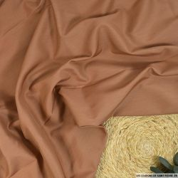 Toile soie et laine chair mat