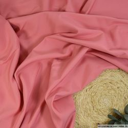 Toile 100% soie rose