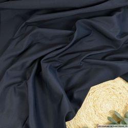 Toile 100% soie bleu foncé