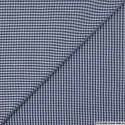 Vichy coton bleu