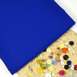 Gabardine 100 % laine bleu roi